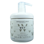 SEBASTIAN Professional Wet Sleek Hold Liquid Gel 16.9 oz /500 ml