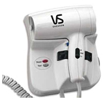 VIDAL SASSOON Professional 1600 Watt Wall Mount Dryer (Model: VS5756R)