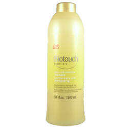 WELLA Biotouch Nutri Care Extra Rich Shampoo Restructurizes Damaged Hair with Vitamin E & Almond Extract 51oz/1500ml